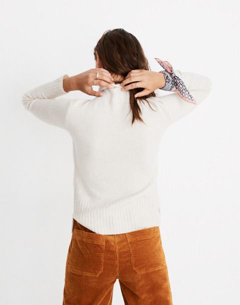 Inland Turtleneck Sweater in Coziest Yarn in hthr cement image 2