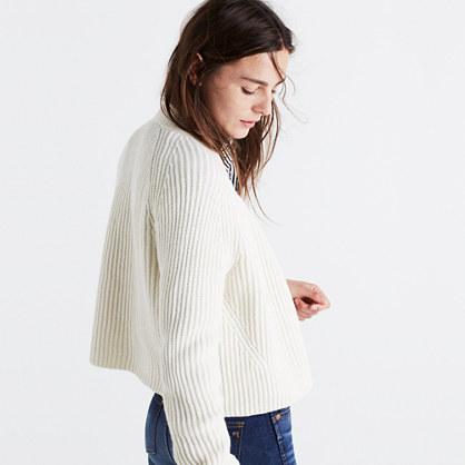 Crop Cardigan Sweater : cardigans & sweater-jackets | Madewell