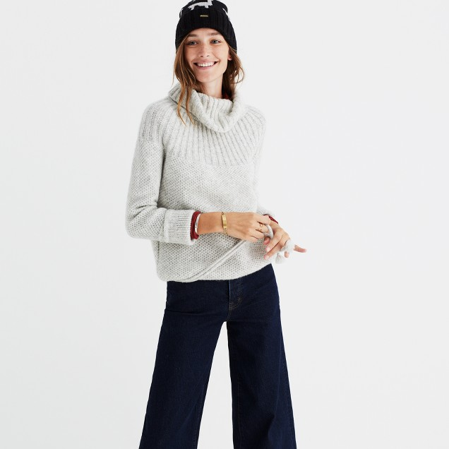 Snowbound Drawstring Pullover Sweater