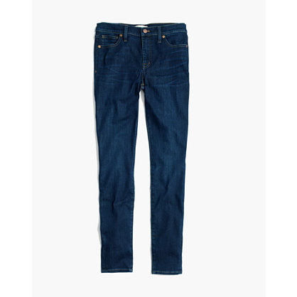 "Taller 9"" High-Rise Skinny Jeans in Larkspur Wash"