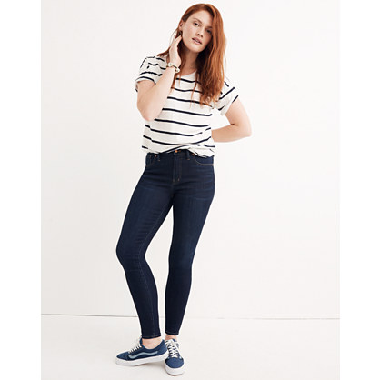 "Taller 9"" High-Rise Skinny Jeans in Larkspur Wash: Tencel® Edition"