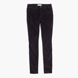 """9"""" High-Rise Skinny Jeans in Velvet"""