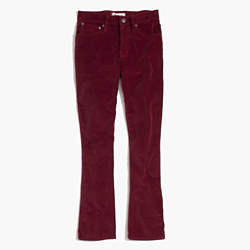 Cali Demi-Boot Jeans in Velvet