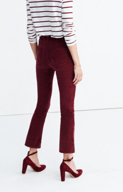 Cali Demi-Boot Jeans in Velvet