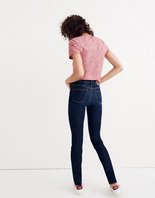 "Tall 9"" High-Rise Skinny Jeans in Larkspur Wash: Tencel® Edition in larkspur image 2"