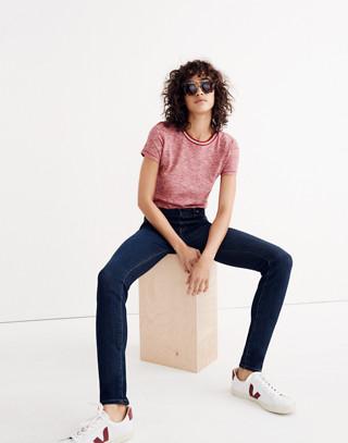 "Taller 9"" High-Rise Skinny Jeans in Larkspur Wash: Tencel® Edition in larkspur image 3"