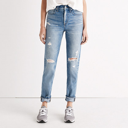 The Perfect Vintage Jean in Chet Wash: Distressed Edition