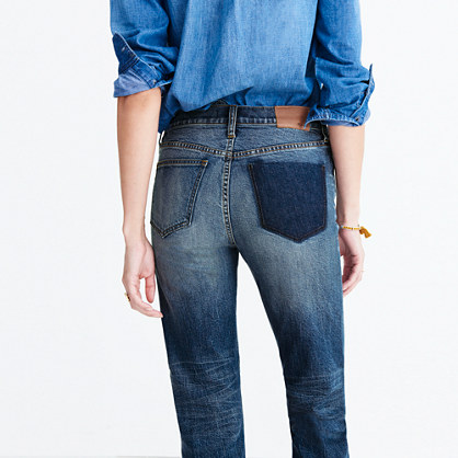 Cruiser Straight Jeans: Shadow-Pocket Edition