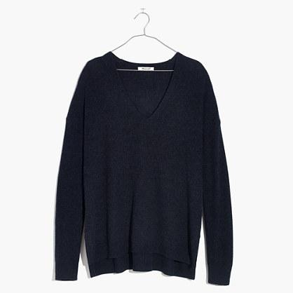 Warmlight V-Neck Pullover Sweater