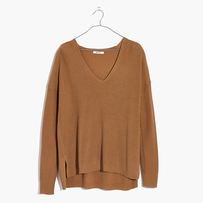 Warmlight V-Neck Pullover Sweater