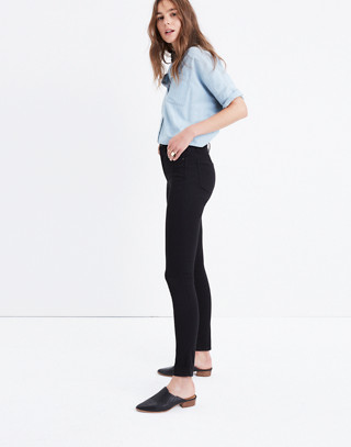 "10"" High-Rise Skinny Jeans in Carbondale Wash in carbondale wash image 3"