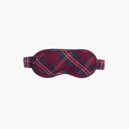 Flannel Shut-Eye Sleep Mask in Jensen Plaid