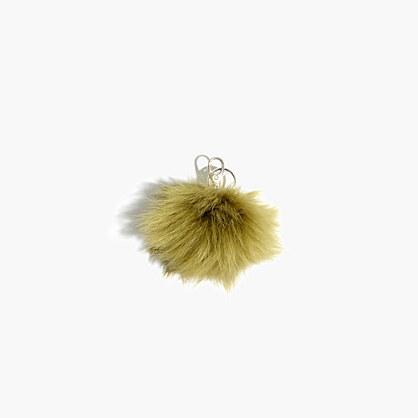 Madewell x Owen Barry™ Toscana Shearling Keychain