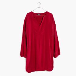 Du Jour Three-Quarter Sleeve Tunic Dress