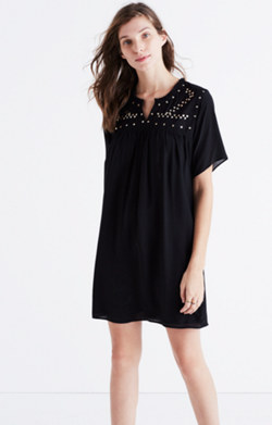 Embroidered Nightbell Dress