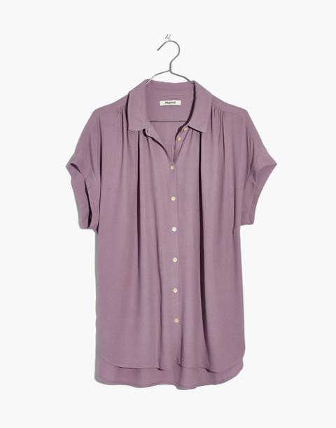 Central Drapey Shirt in serene lavender image 1