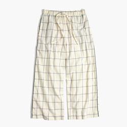 Flannel Bedtime Pajama Pants in Windowpane
