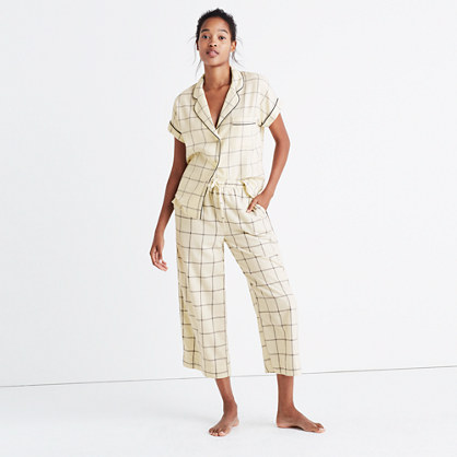 Flannel Bedtime Pajama Pants in Windowpane