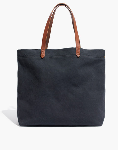 The Canvas Transport Tote in black sea image 1
