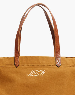 The Canvas Transport Tote in acorn image 4