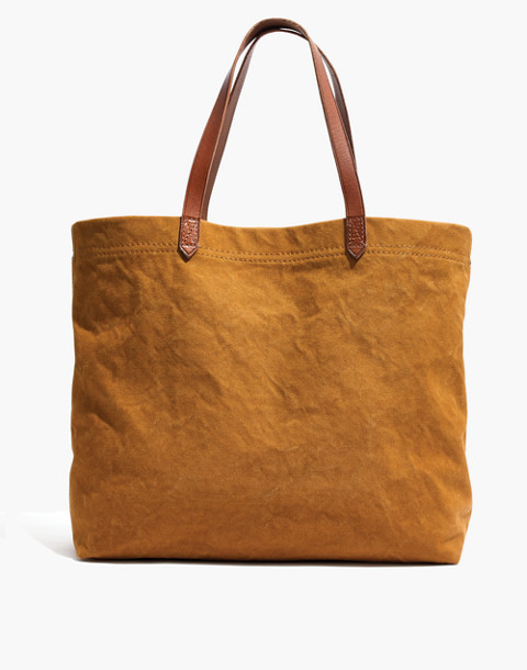The Canvas Transport Tote in acorn image 1