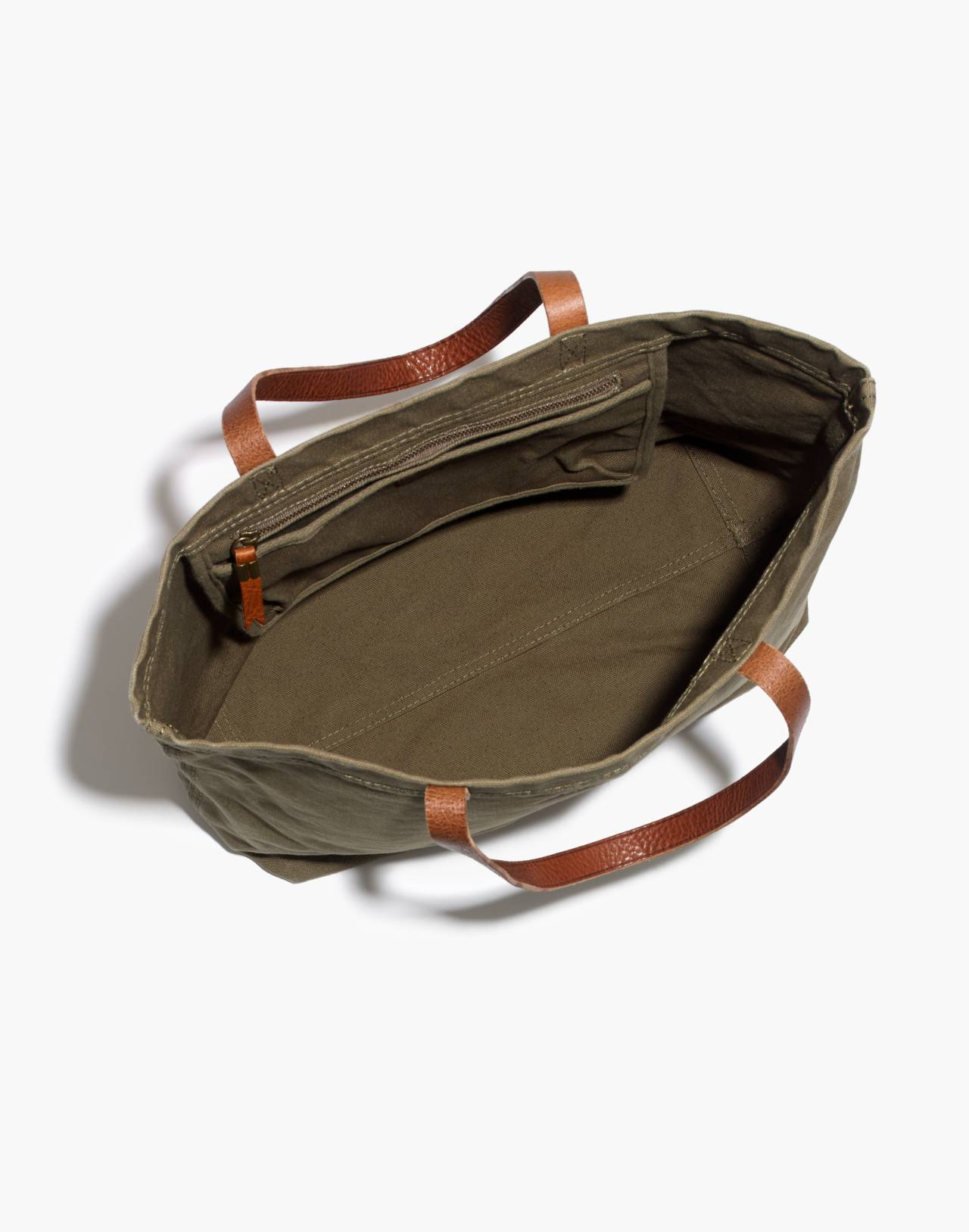 The Canvas Transport Tote in british surplus image 3