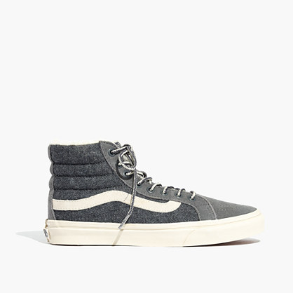 Madewell x Vans® Unisex Weatherized Classic Sk8-Hi High-Top Sneakers