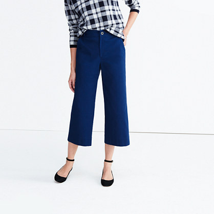 Langford Wide-Leg Crop Pants