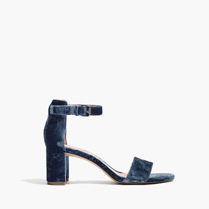 The Lainy Sandal in Velvet