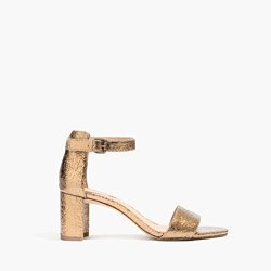 The Lainy Sandal in Metallic