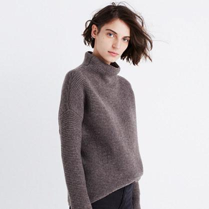 Southfield Mockneck Sweater : turtlenecks | Madewell