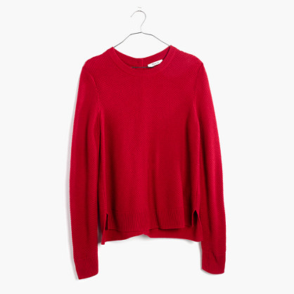 Backroad Button-Back Sweater