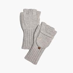 Convertible Ribbed Gloves