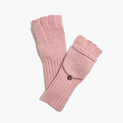 Convertible Ribbed Gloves