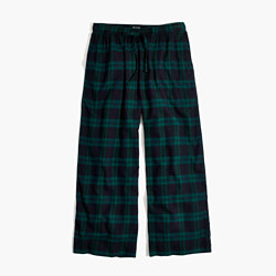 Flannel Bedtime Pajama Pants in Dark Plaid
