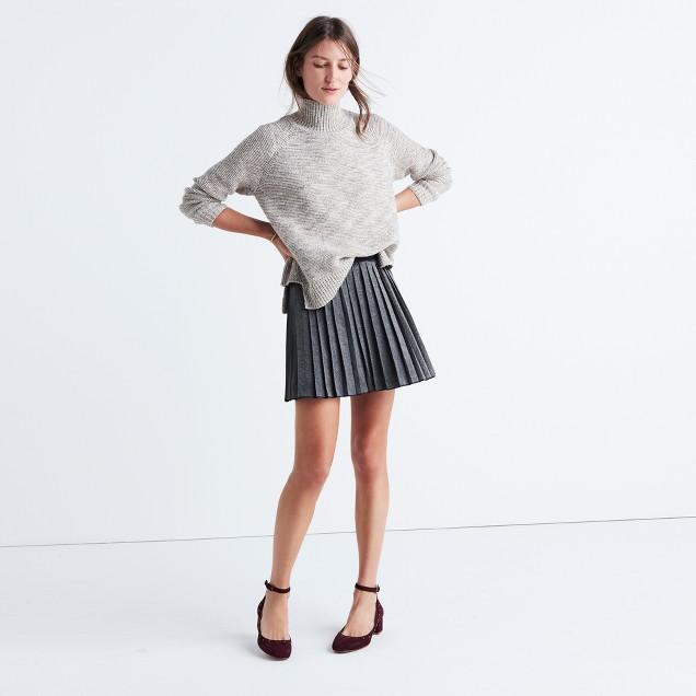 Shimmer Mini Skirt