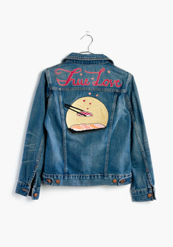 Madewell x Ft. Lonesome™ Custom Jean Jacket