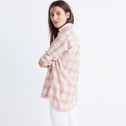 Central Long-Sleeve Shirt in Danville Plaid