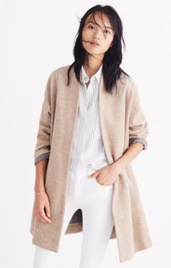 Stanza Herringbone Coat