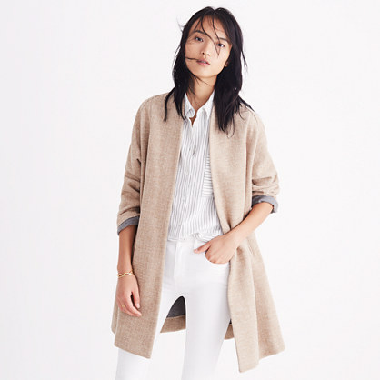 Stanza Herringbone Coat