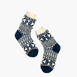 Pattern Mix Trouser Socks