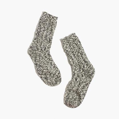 Cableknit Trouser Socks