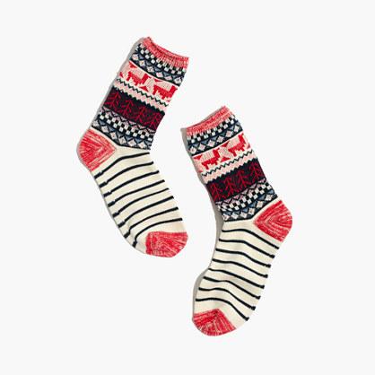 Llama Trouser Socks