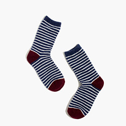 Flecked Stripe Trouser Socks