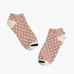 Dot-Mix Anklet Socks