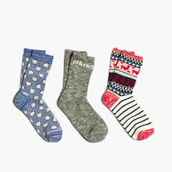 Three-Pack Cheers Mix Trouser Socks