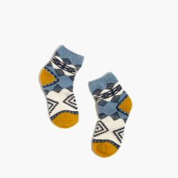 Diamond Carpet Ankle Socks