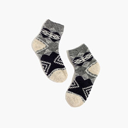 Diamond Carpet Ankle Socks