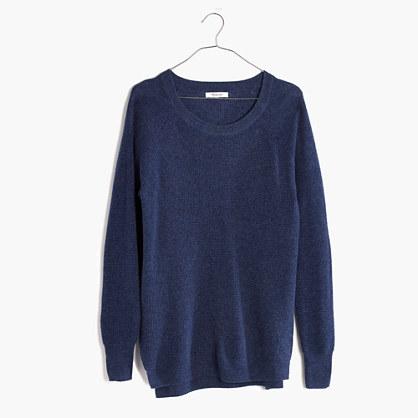 Wafflestitch Pullover Sweater