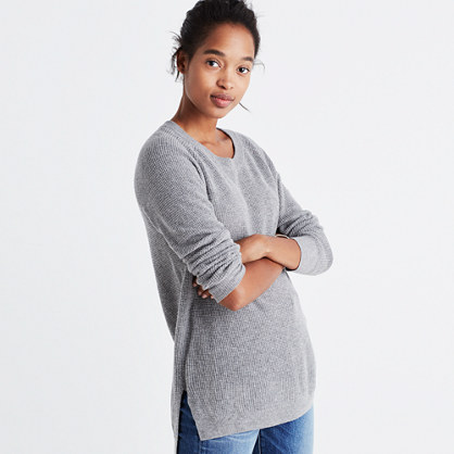 Wafflestitch Pullover Sweater